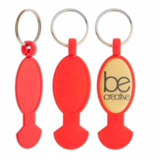 809397   Keyring with coin for super market
