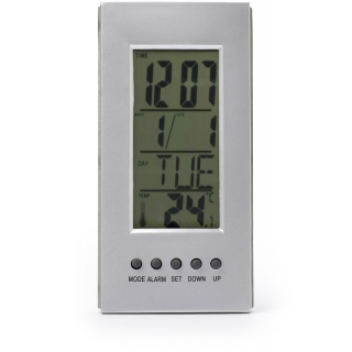 4418 | Desk clock with thermometer
